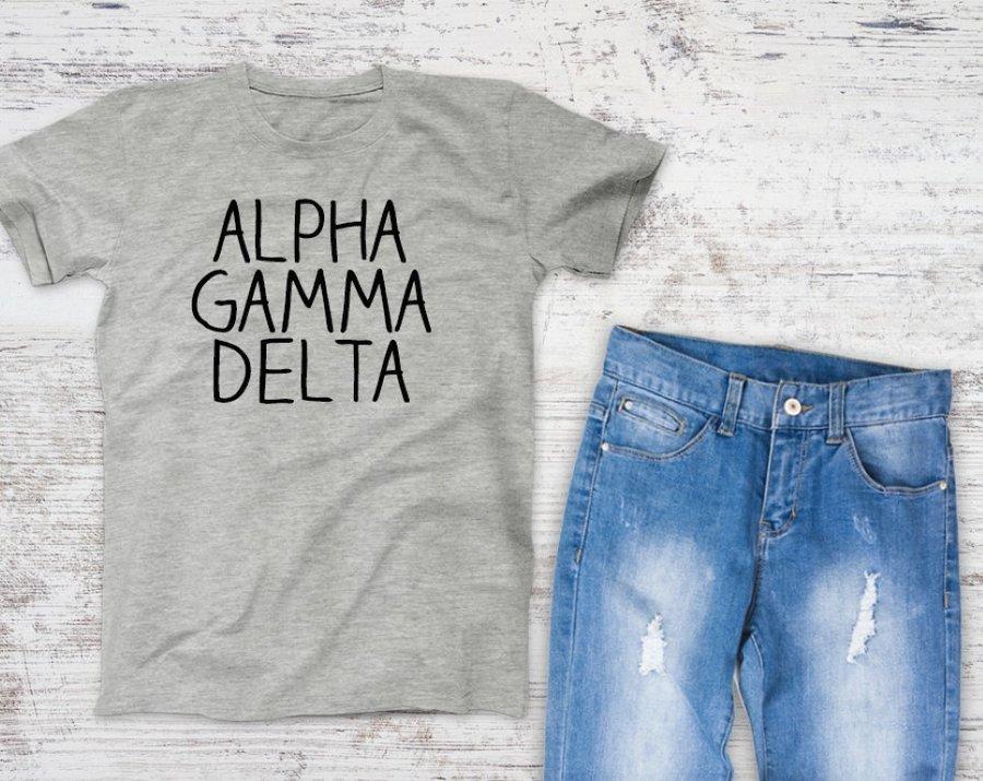 Alpha Gamma Delta Campus Tee