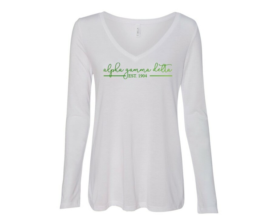 Alpha Gamma Delta Established Long Sleeve