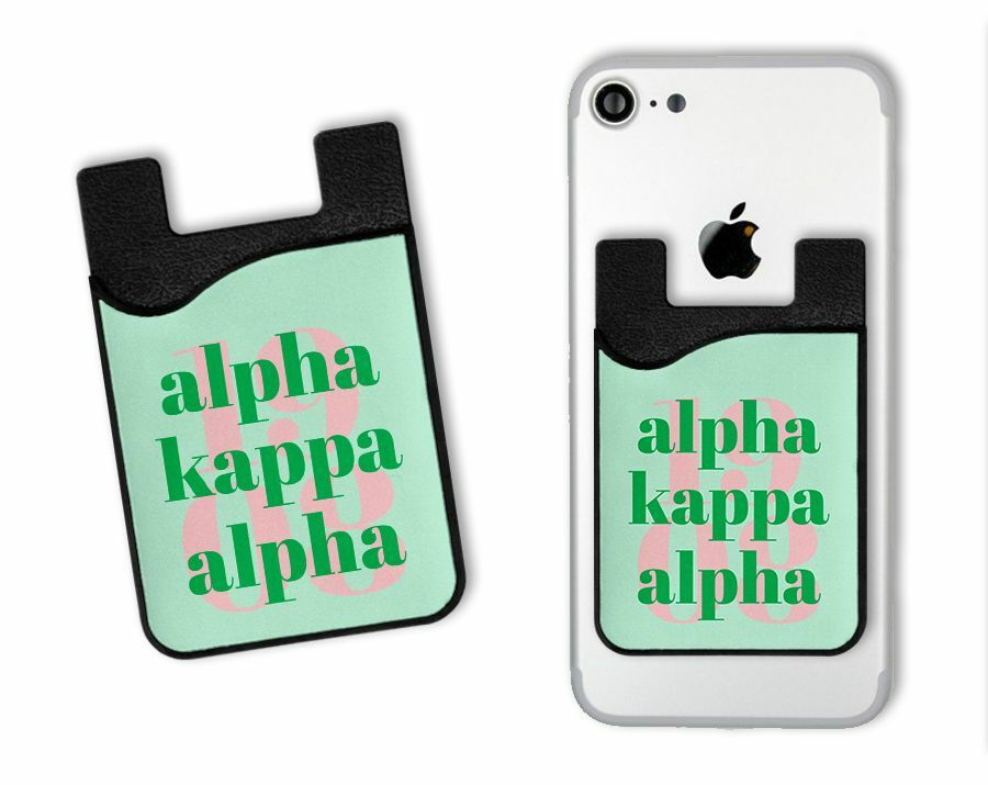 Alpha Kappa Alpha 1908 Caddy Phone Wallet