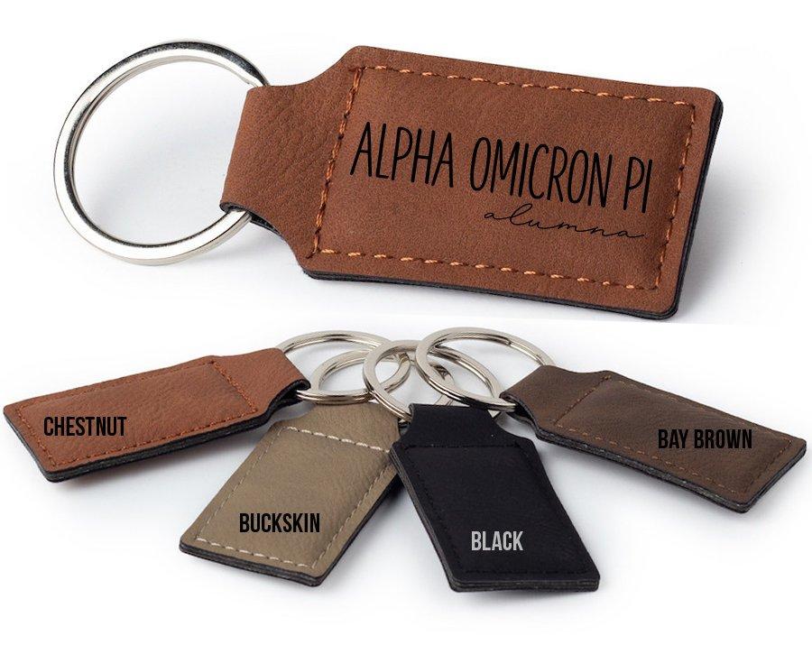 Alpha Omicron Pi Alumna Key Chain