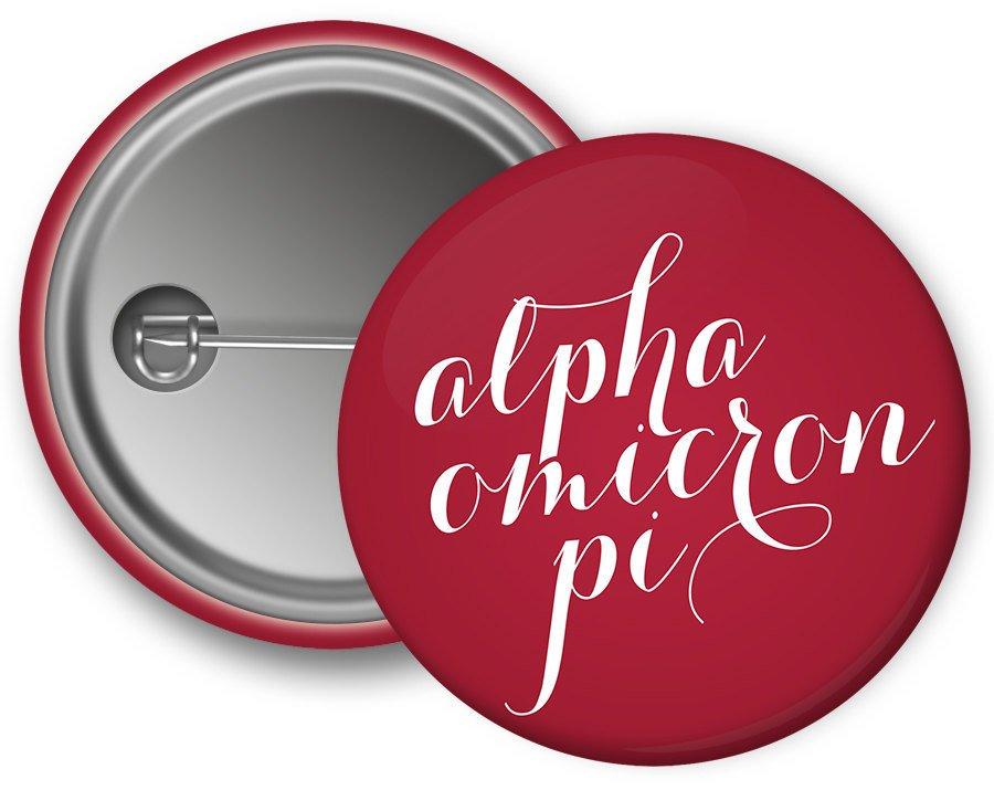 Alpha Omicron Pi Script Button