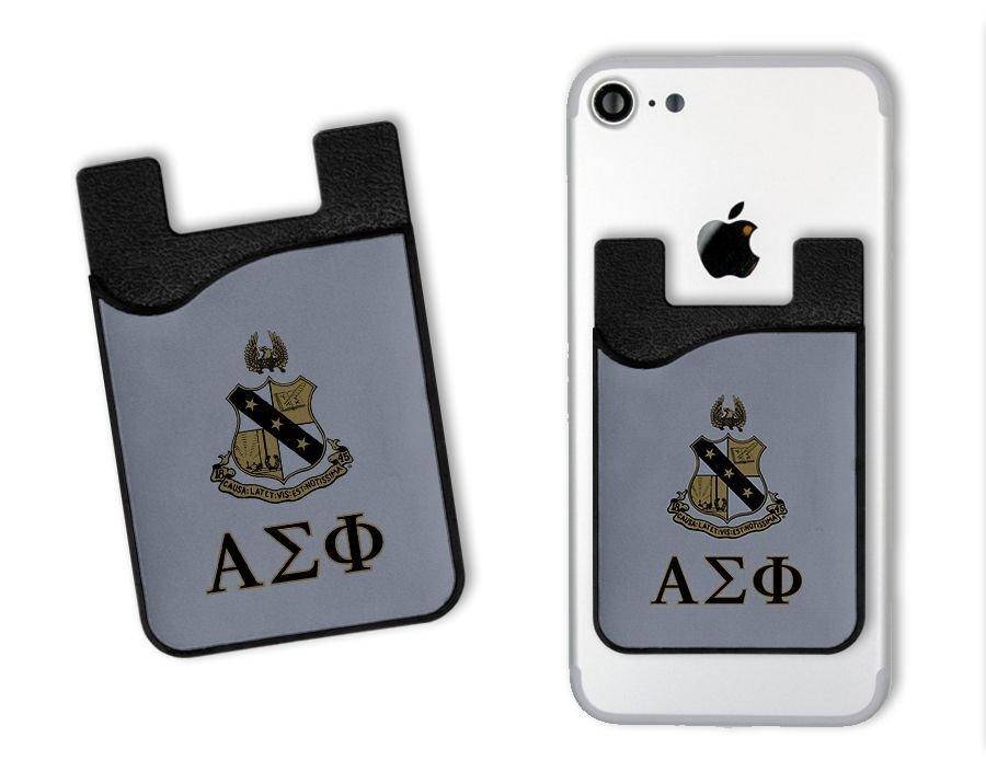 Alpha Sigma Phi Crest Card Wallet