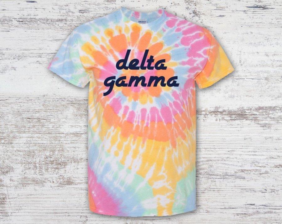 Delta Gamma Tie Dye Tee