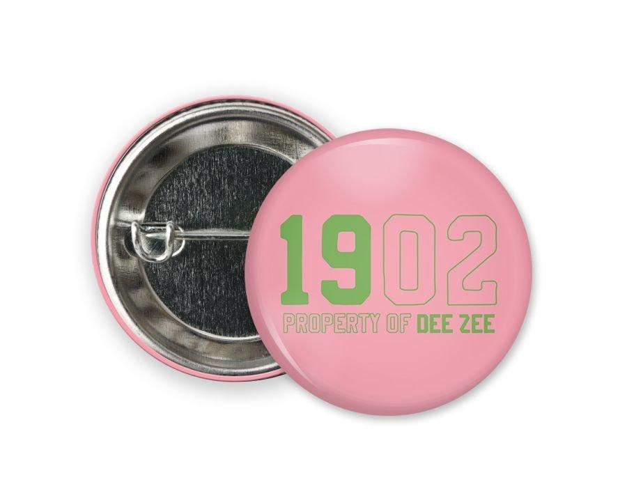 Delta Zeta Year Button