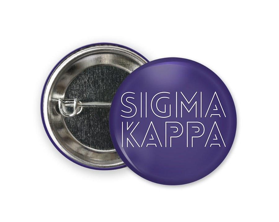 Sigma Kappa Modera Button