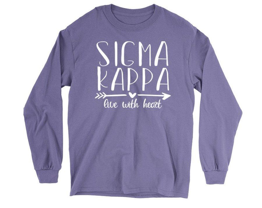 Sigma Kappa Motto Long Sleeve