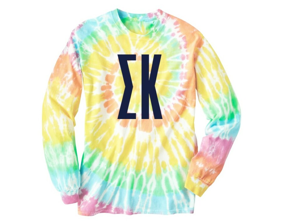 Sigma Kappa Tie Dye Long Sleeve