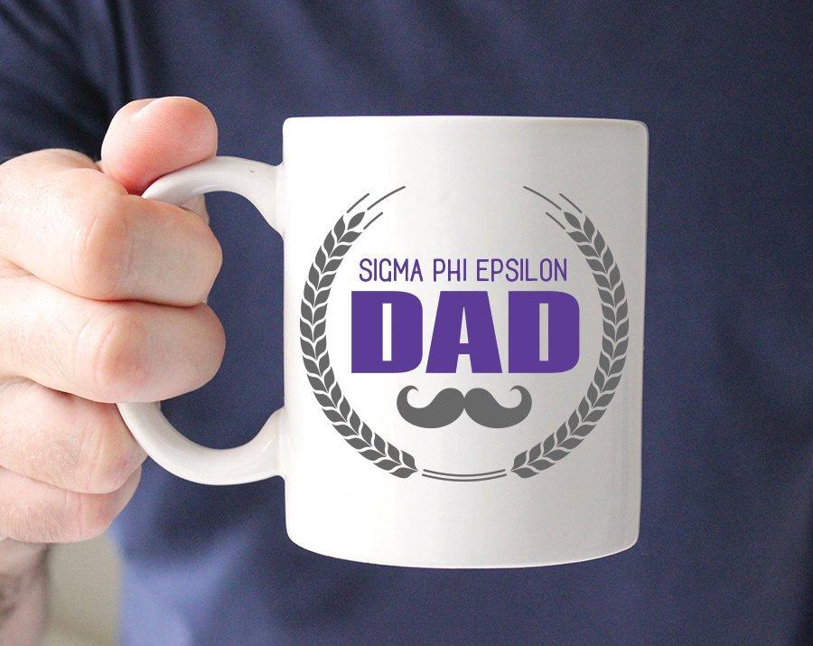 Sigma Phi Epsilon Dadstache Mug