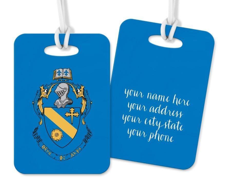 Theta Phi Alpha Crest - Shield Luggage Tag