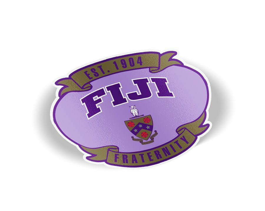 FIJI Banner Crest - Shield Decal
