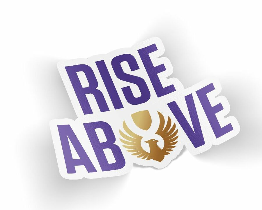 SAE - Rise Above Decal Sticker