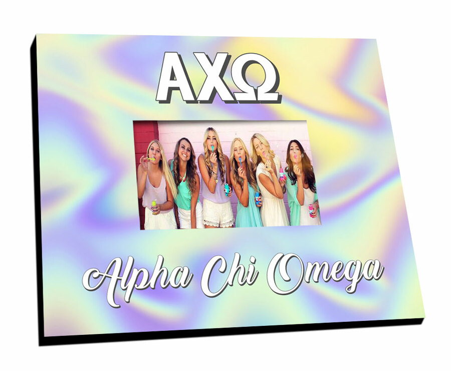 Alpha Chi Omega Holla Picture Frame