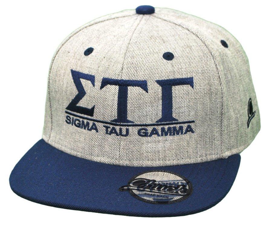 Sigma Tau Gamma Flatbill Snapback Hats Original