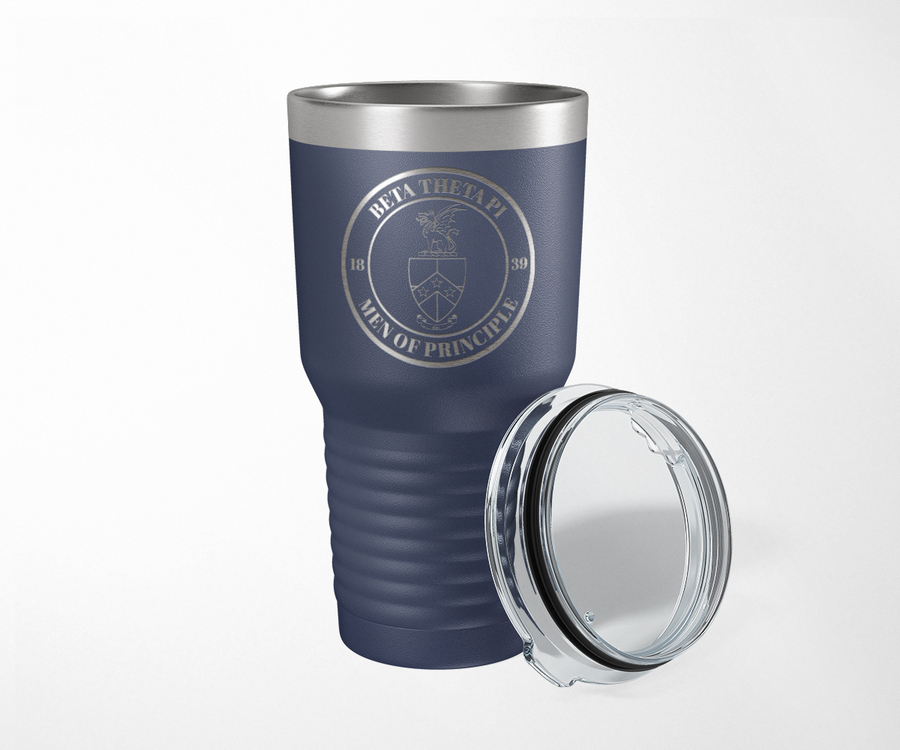 Beta Theta Pi Crest Seal Tumbler