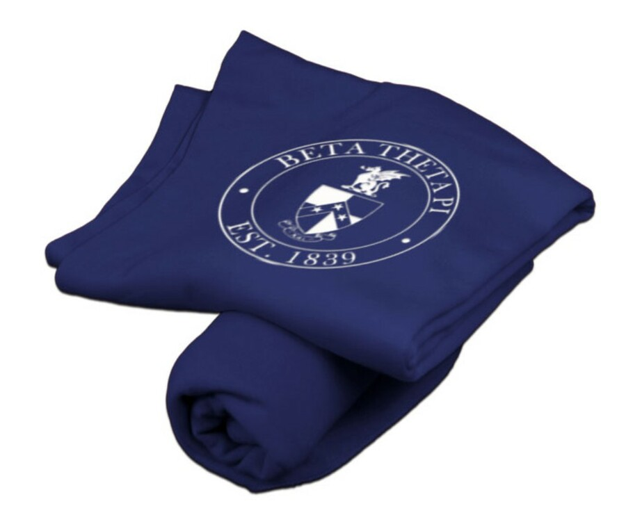 Beta Theta Pi Sweatshirt Blanket