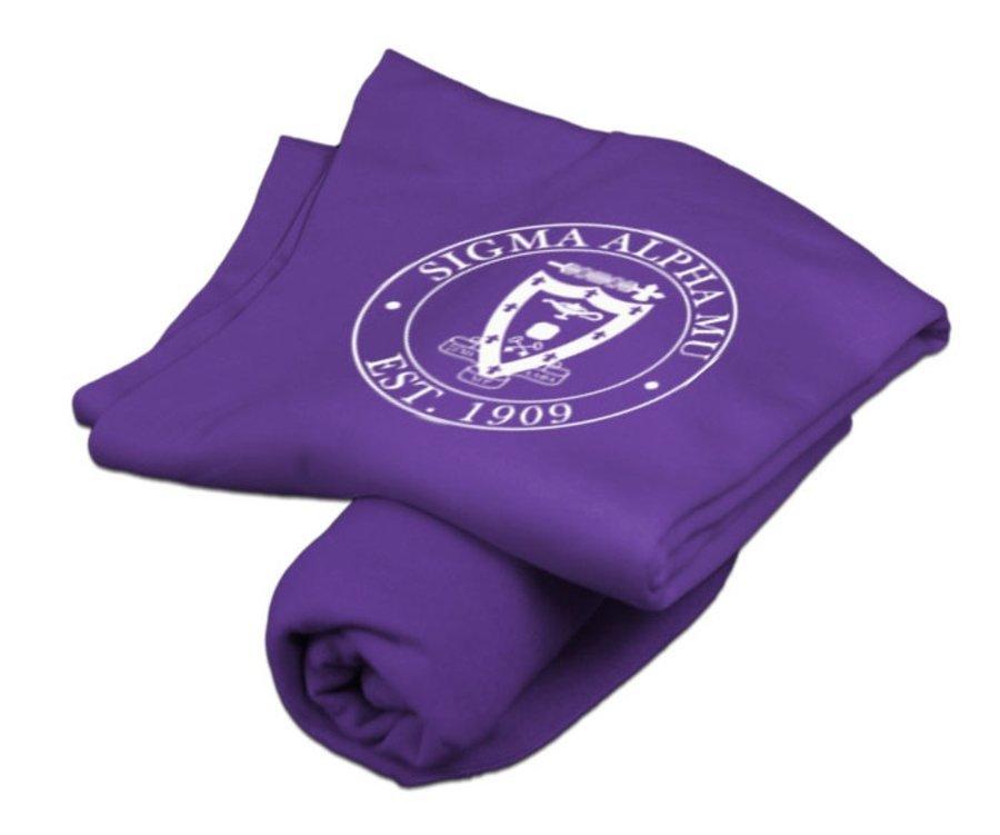 Sigma Alpha Mu Sweatshirt Blanket