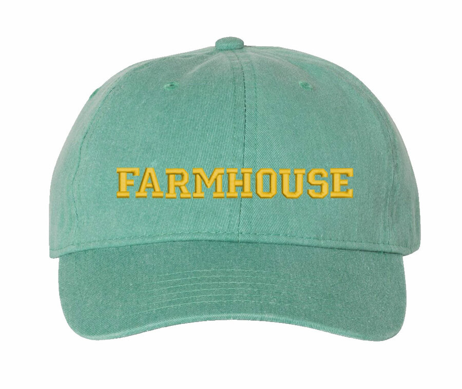 FARMHOUSE Comfort Colors Pigment Dyed Baseball Cap