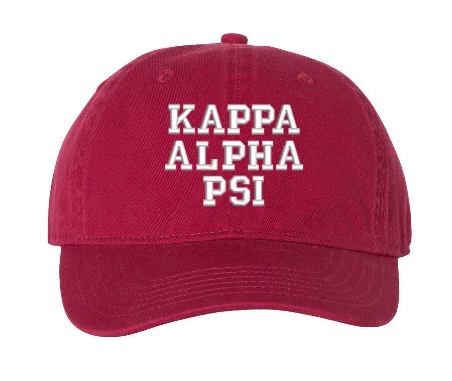 Kappa Alpha Psi Comfort Colors Pigment Dyed Baseball Cap