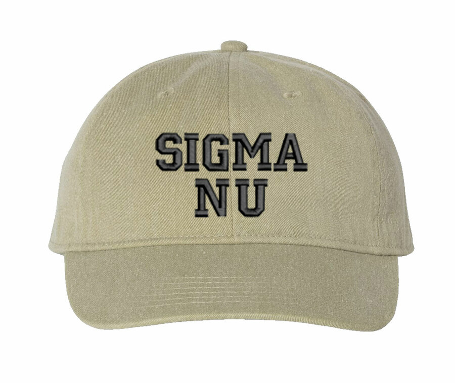 Sigma Nu Comfort Colors Pigment Dyed Baseball Cap