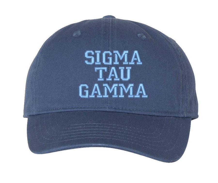 Sigma Tau Gamma Comfort Colors Pigment Dyed Baseball Cap