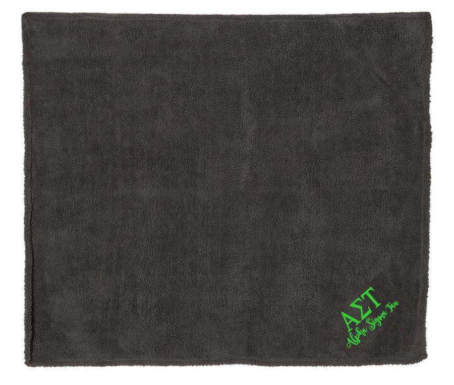 Alpha Sigma Tau Sherpa Blanket