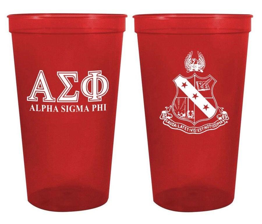 Alpha Sigma Phi Big Crest Stadium Cup