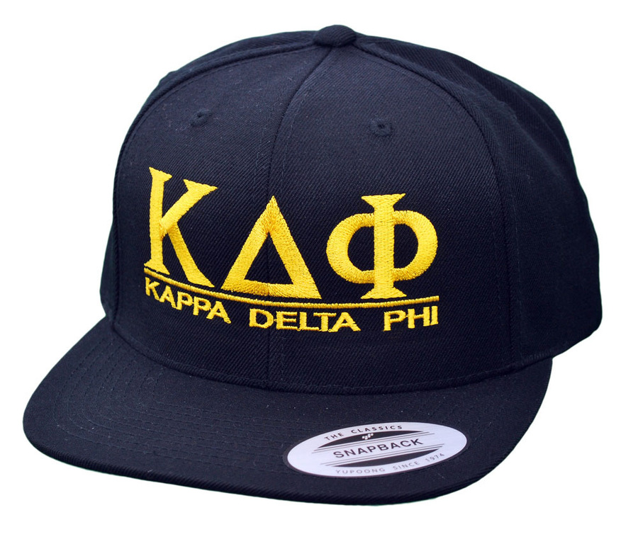 Kappa Delta Phi Flatbill Snapback Hats Original
