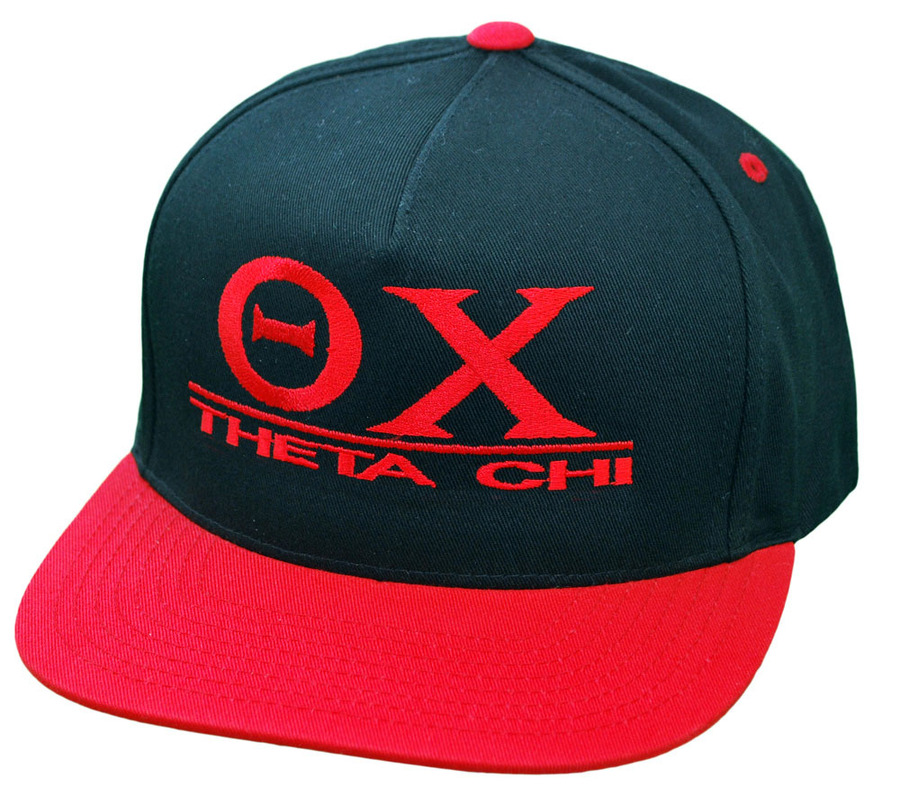Theta Chi Flatbill Snapback Hats Original