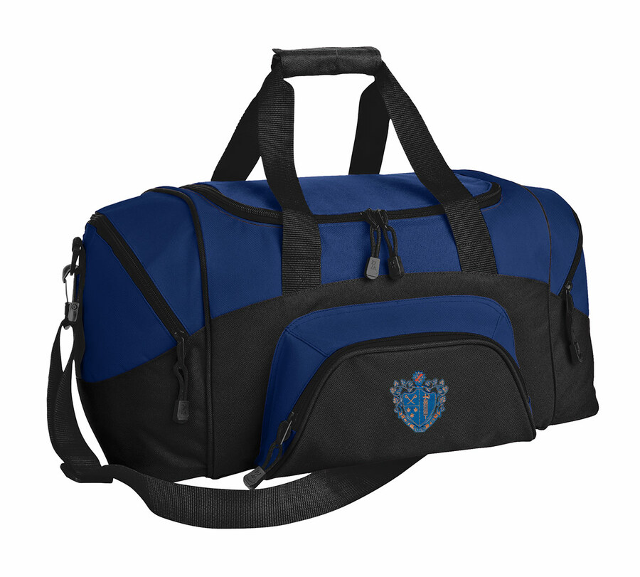 DISCOUNT-Chi Phi Colorblock Duffel Bag