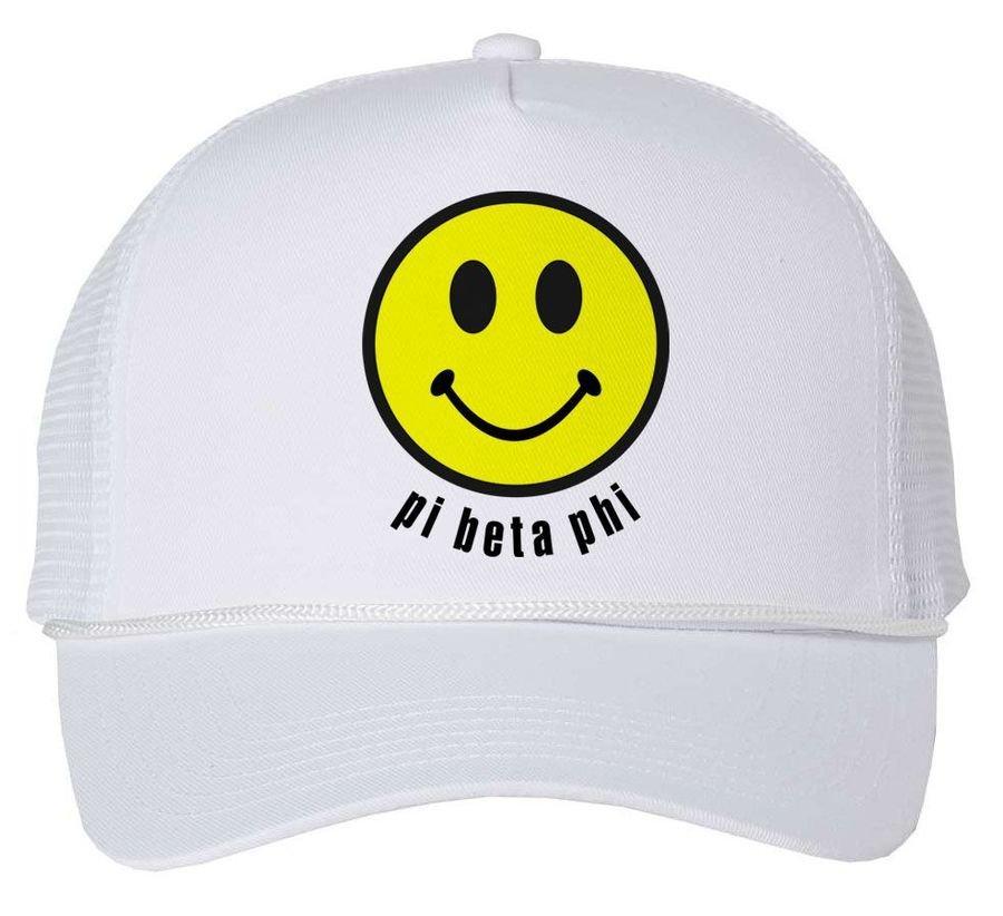 Sorority Smiley Face Trucker Hat