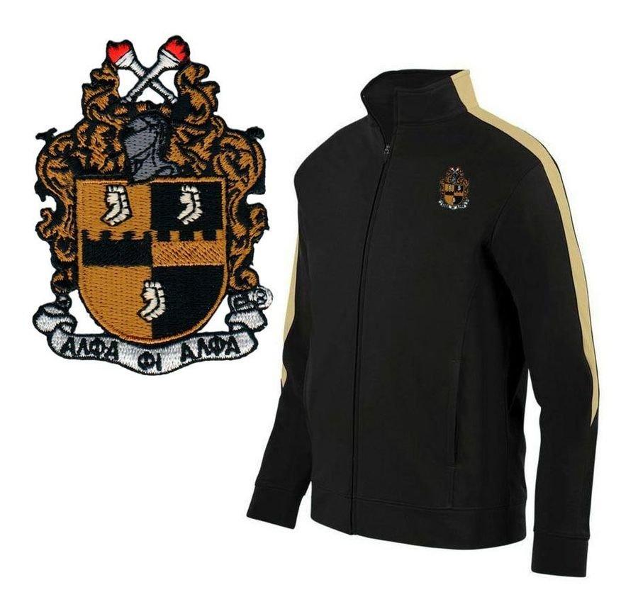 DISCOUNT-Alpha Phi Alpha-  World Famous Greek Crest - Shield Medalist Jacket