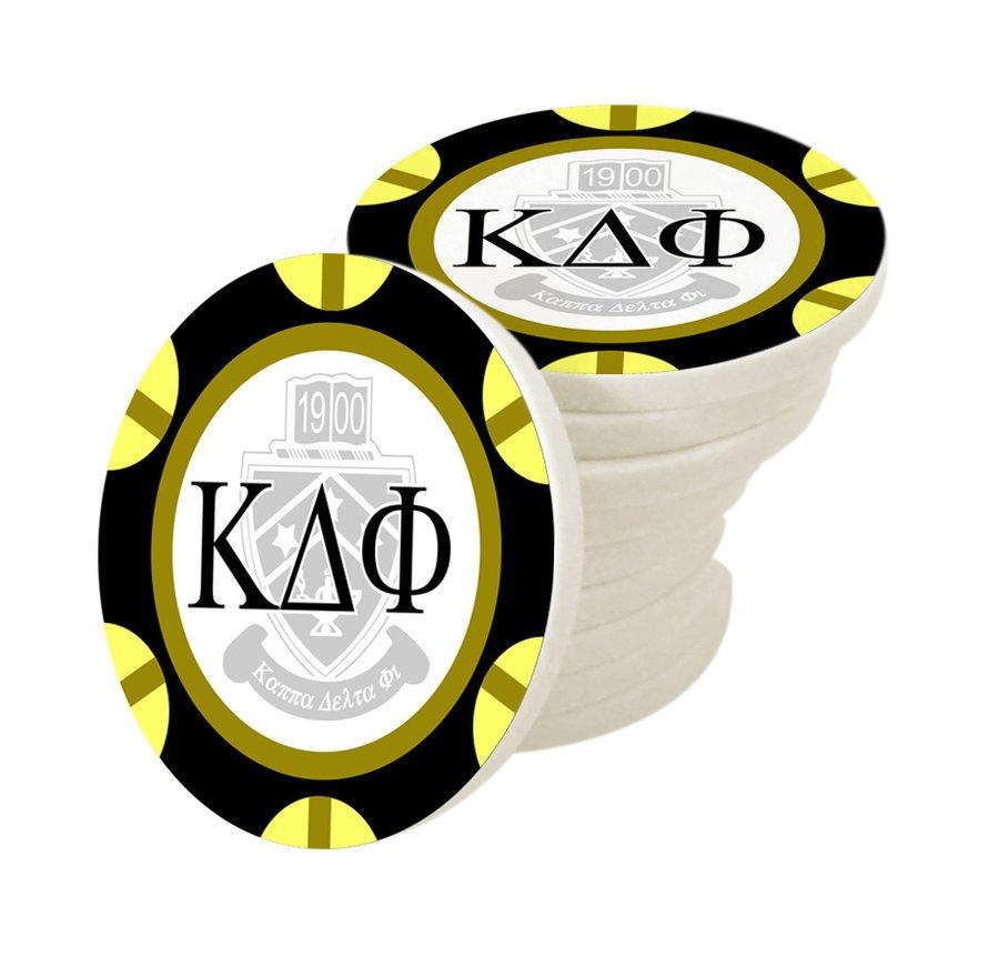 Kappa Delta Phi Poker Chips