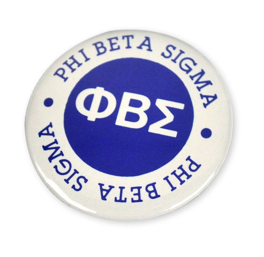 "Phi Beta Sigma 1/1/4"" Button"