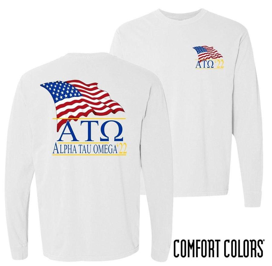 Comfort Colors Patriot Long Sleeve Tee