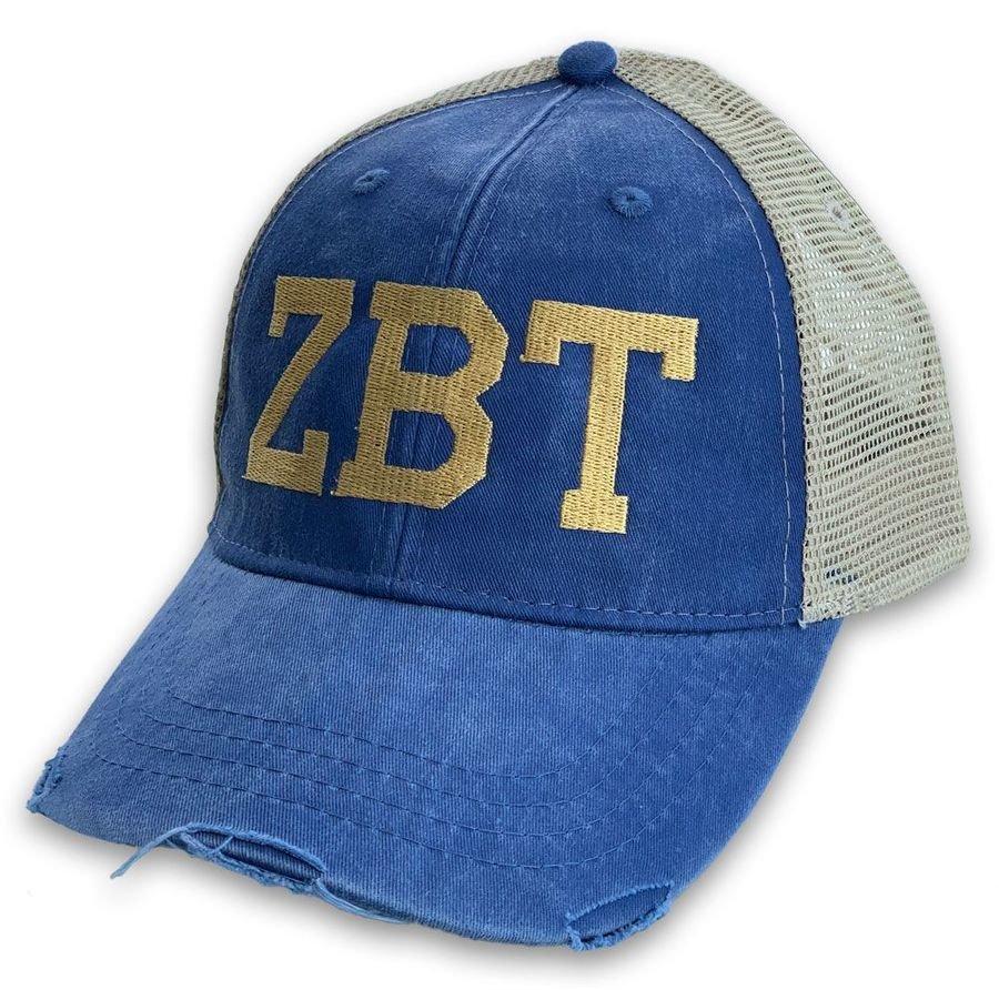 Fraternity & Sorority Distressed Trucker Hat
