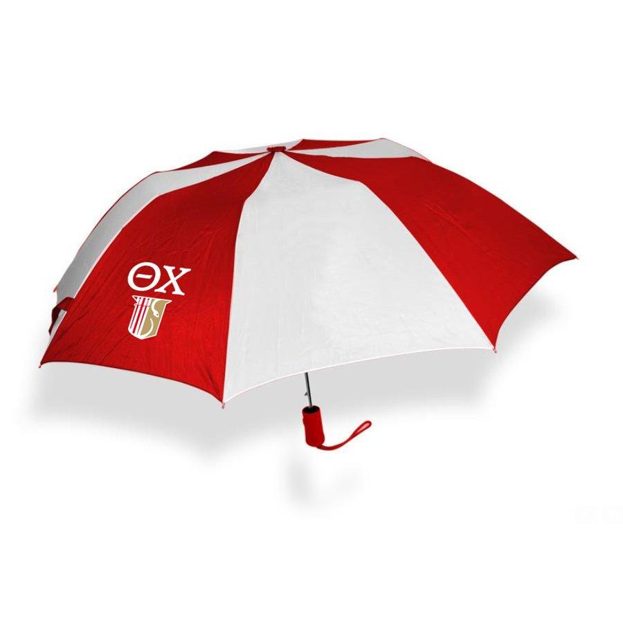 Theta Chi Crest - Shield Umbrella