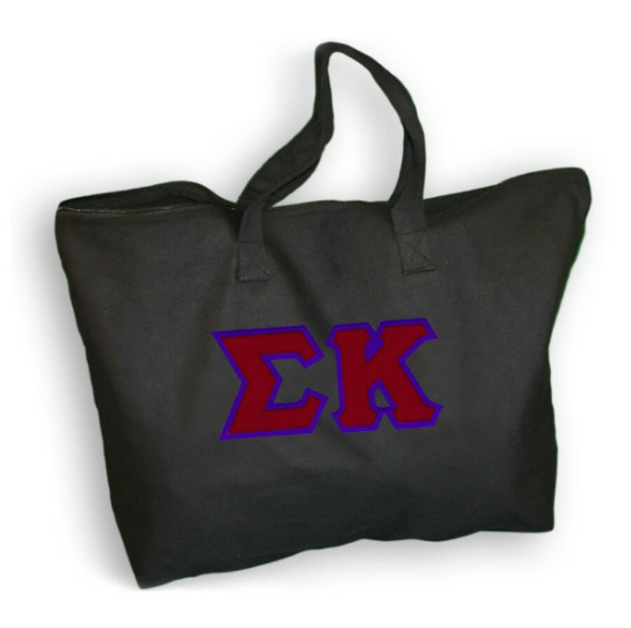 DISCOUNT- Sigma Kappa Lettered Tote Bag