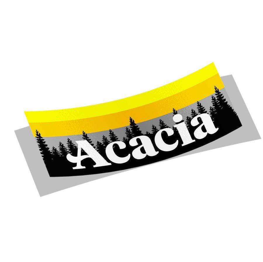 ACACIA Mountain Decal Sticker