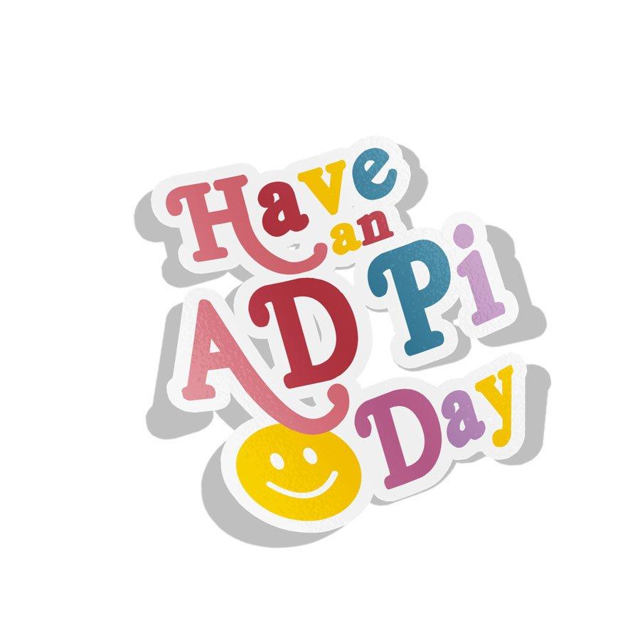 Alpha Delta Pi Day Decal Sticker