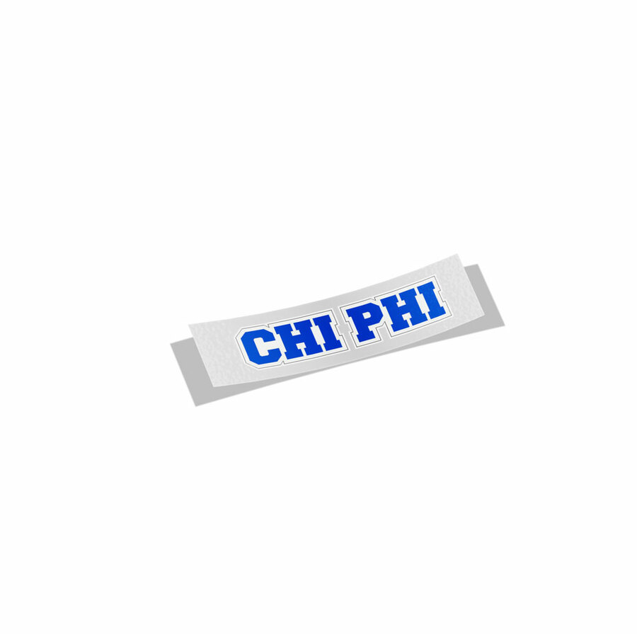 Chi Phi Long Window Sticker
