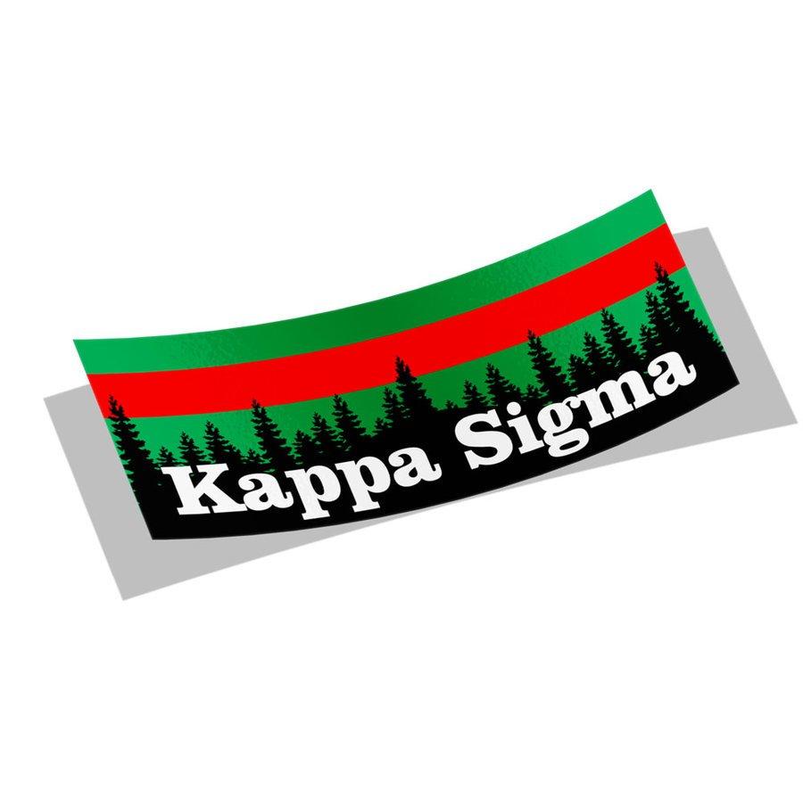 Kappa Sigma Mountain Decal Sticker