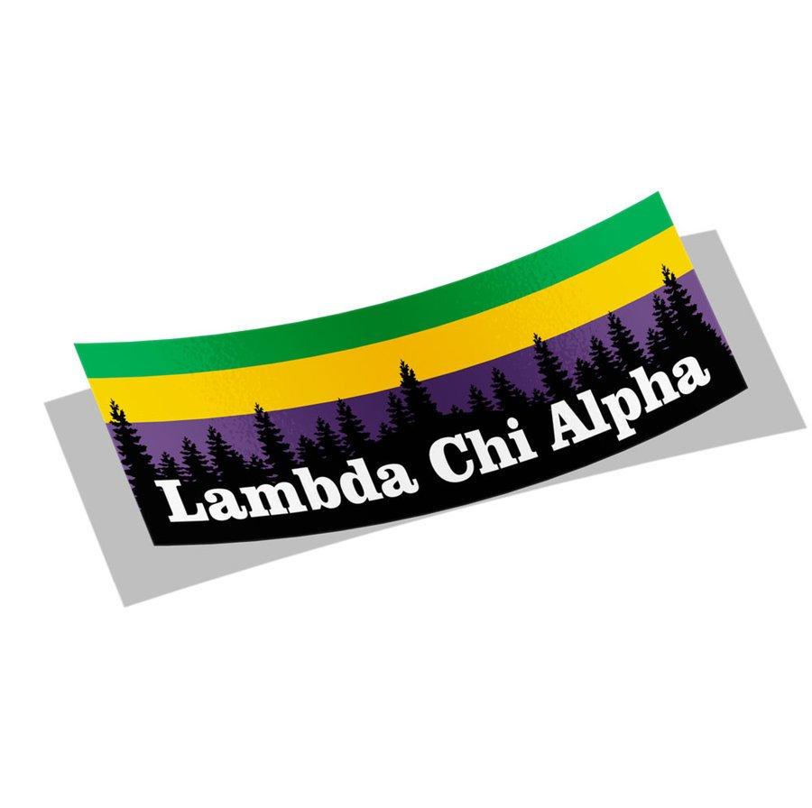 Lambda Chi Alpha Mountain Decal Sticker