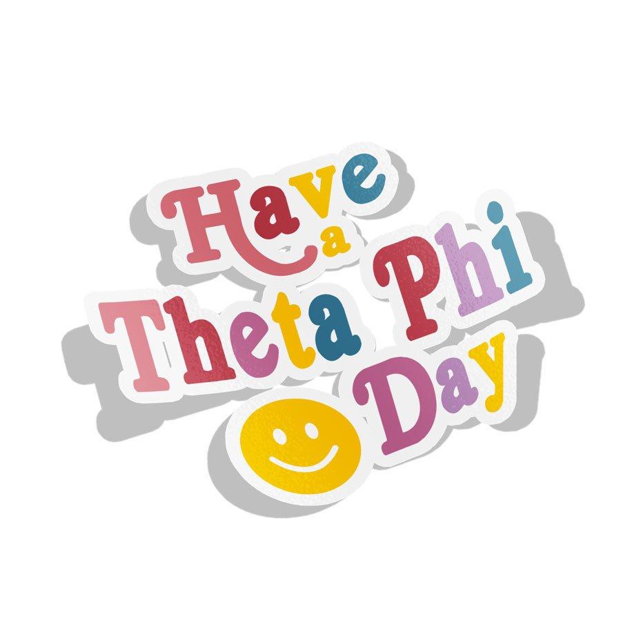 Theta Phi Alpha Day Decal Sticker