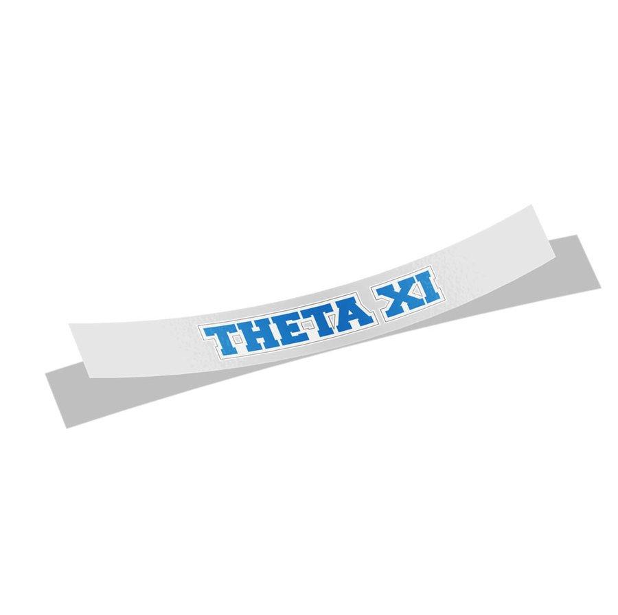 Theta Xi Long Window Sticker