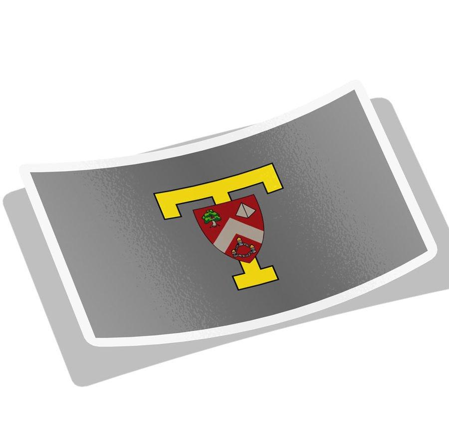 TRIANGLE Flag Decal Sticker