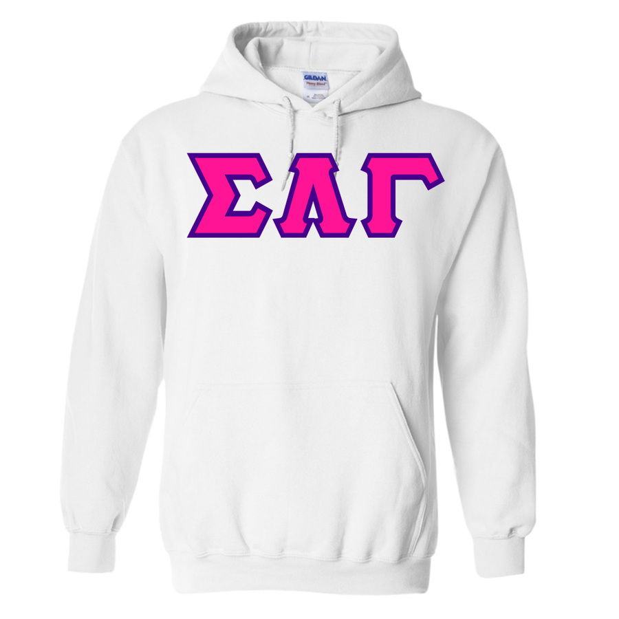 $30 Sigma Lambda Gamma Custom Twill Hooded Sweatshirt