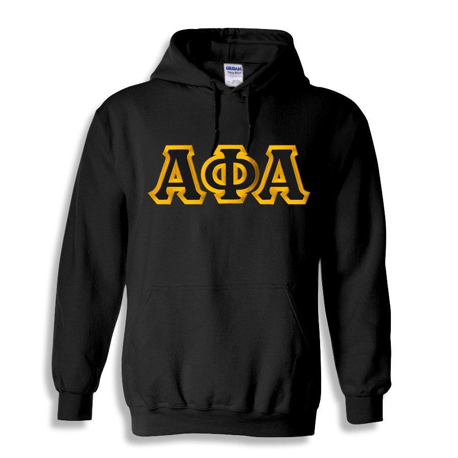 Alpha Phi Alpha Custom Twill Hooded Sweatshirt