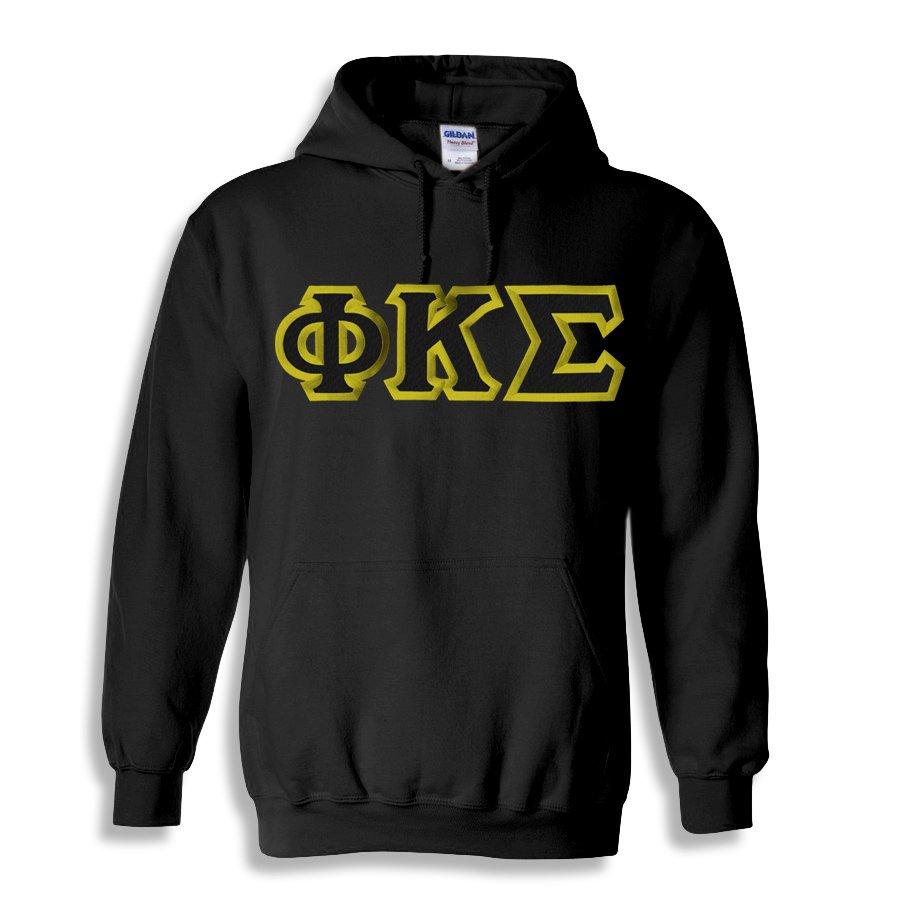 Phi Kappa Sigma Custom Twill Hooded Sweatshirt