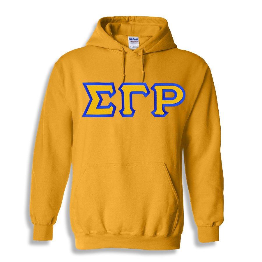 Sigma Gamma Rho Custom Twill Hooded Sweatshirt