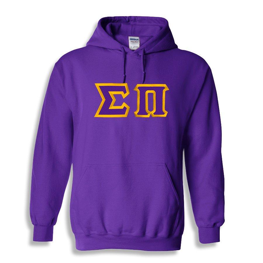 Sigma Pi Custom Twill Hooded Sweatshirt